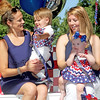 Rod Rose The Lebanon Reporter<br /> BEAUTIFUL BABIES: Jaxon Turner, held b y mom Justine Turner, and Paisleigh Woodard, held by mom Ashleigh Leavitt, were crowned Beautiful Baby Boy and Beautiful Baby Girl Boone Saturday at a contenst in Lebanon's Memorial Park.