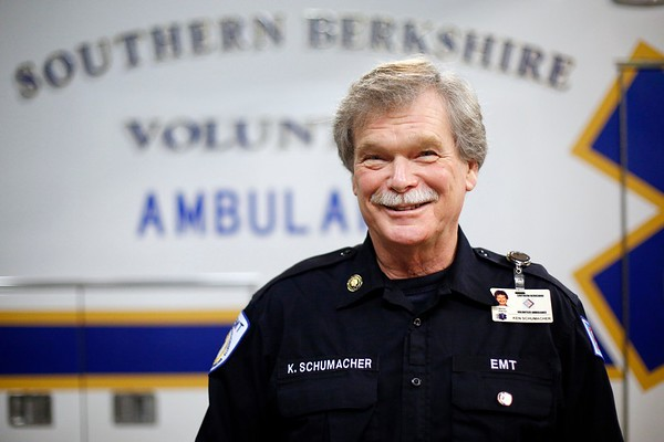 Ken Schumacher, 40 year veteran of Southern Berkshire Volunteer Ambulance-011317