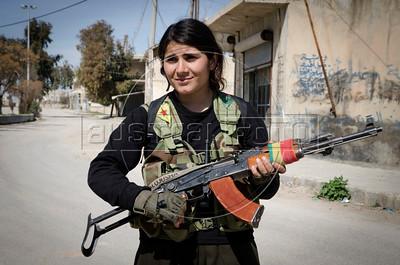 Kobane, Syria war