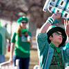 Foster Greer, 13, runs drills with the lawn chair brigade before  St. Patrick day, Sunday, March, 4, 2012. Boulder.<br /> Photo by Derek Broussard