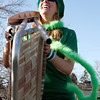 Jodi Smith runs drills with the lawn chair brigade before  St. Patrick day, Sunday, March, 4, 2012. Boulder.<br /> Photo by Derek Broussard