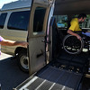 INEWS108-LONG_TERM_CARE.JPG Larry Williams, community transitions coordinator for Atlantis Community, Inc., left, helps Cliff Seigneur into a van on on Sept. 7, 2010 as they prepare to visit a wheelchair-accessible apartment in Golden. Seigneur, 48, moved into the North Star Community long-term care facility in west Denver when multiple sclerosis made it impossible for him to work. (JOE MAHONEY/I-NEWS)