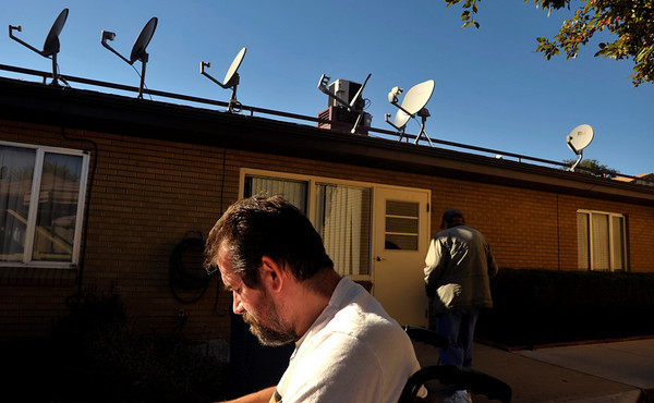 INEWS107-LONG_TERM_CARE.JPG Cliff Seigneur, a former Colorado assistant attorney general, takes a break in the sun outside the North Star Community long-term care facility where he lives in west Denver on Oct. 20, 2010. Seigneur was an assistant state attorney general, but his multiple sclerosis eventually made it impossible for him to work. He didn't know about home care, and he wound up in a Denver nursing home at age 48.(JOE MAHONEY/I-NEWS)