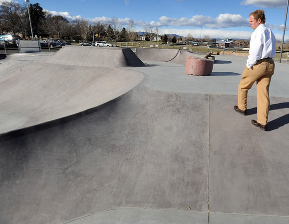 """Curt Cheesman, Director of Lafayette Recreation and Facility Management, talks about the new skate park behind the Bob Burger Recreation Center.<br /> For a video of the skate park, go to  <a href=""""http://www.dailycamera.com"""">http://www.dailycamera.com</a>.<br /> Cliff Grassmick / December 9, 2010"""