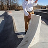 "Curt Cheesman, Director of Lafayette Recreation and Facility Management, talks about this marble rock feature that can be skated on in the new park behind the Bob Burger Recreation Center.<br /> For  more photos and a video of the skate park, go to  <a href=""http://www.dailycamera.com"">http://www.dailycamera.com</a>.<br /> Cliff Grassmick / December 9, 2010"