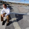"Curt Cheesman, Director of Lafayette Recreation and Facility Management, talks about the new skate park behind the Bob Burger Recreation Center.<br /> For a video of the skate park, go to  <a href=""http://www.dailycamera.com"">http://www.dailycamera.com</a>.<br /> Cliff Grassmick / December 9, 2010"