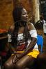 Camerino durnte a festa de lancamento da campanha para deputada federal de Gabriela Leite, ex-prostituta e sociologa, diretora da ONG Davida e da grife de roupas Daspu, Rio de Janeiro, Brasil, agosto 7, 2010. (Austral Foto/Renzo Gostoli)