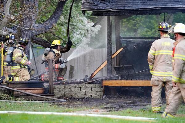 Lee house fire - 051718