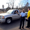 "A resident of Lake of the Pines talks to sheriff's deputies as he evacuates the area because of the Lefthand Canyon Fire on Friday.<br /> For a videos of the fire, go to  <a href=""http://www.dailycamera.com"">http://www.dailycamera.com</a>.<br /> Cliff Grassmick/ March 11, 2011"