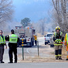 "Boulder County Sheriff's deputies and firefighters staff Lefthand Canyon Road off of Highway 36.<br /> For a videos of the fire, go to  <a href=""http://www.dailycamera.com"">http://www.dailycamera.com</a>.<br /> Cliff Grassmick/ March 11, 2011"