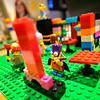KRISTOPHER RADDER — BRATTLEBORO REFORMER<br /> A Lego display features characters from The Simpsons.