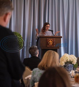 Student speaker Indira Karimova speaks during the Literacy Council of Tyler Donor Appreciation Luncheon held on Jan. 29, 2020 at Willow Brook County Club.   (Sarah A. Miller/Tyler Morning Telegraph)