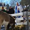 KRISTOPHER RADDER - BRATTLEBORO REFORMER<br /> Members of the Lutheran Trinity Church, in Brattleboro, Vt., hosted the annual living nativity scene on Sunday, Dec. 17, 2017.