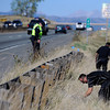"Missing Girl Search006.JPG Police search for a missing girl named Jessica Ridgeway on Monday, Oct. 8, on the side of highway 36 near the Flatirons Crossing exit in Broomfield. For more photos and video of the search go to  <a href=""http://www.dailycamera.com"">http://www.dailycamera.com</a><br /> Jeremy Papasso/ Camera"