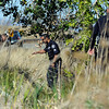 "Missing Girl Search005.JPG Police search for a missing girl named Jessica Ridgeway on Monday, Oct. 8, on the side of highway 36 near the Flatirons Crossing exit in Broomfield. For more photos and video of the search go to  <a href=""http://www.dailycamera.com"">http://www.dailycamera.com</a><br /> Jeremy Papasso/ Camera"