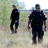 "Missing Girl Search003.JPG Police search for a missing girl named Jessica Ridgeway on Monday, Oct. 8, on the side of highway 36 near the Flatirons Crossing exit in Broomfield. For more photos and video of the search go to  <a href=""http://www.dailycamera.com"">http://www.dailycamera.com</a><br /> Jeremy Papasso/ Camera"