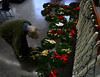 People assemble wreaths for the All Souls Church 2016 Christmas Bazaar that will be held on Friday and Saturday. KRISTOPHER RADDER - BRATTLEBORO REFORMER