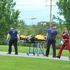 Pt being moved to the helicopter<br /> <br /> photo Scott LaPrade