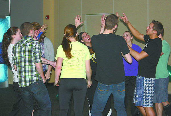 """Lebanon High School students dance last Saturday evening at the Thirst Project Dance-A-Thon, held at the school. It was the first-ever Thirst Project event held at LHS, where students raised money to fund a freshwater well in an African community. More than $7,000 was raised — $4,170 during the dance and $3,100, and counting, at other times. The initial goal was $6,000, so there will be some leftover funds to kick-start next year's fundraiser. """"This is an outstanding effort our student body put together,"""" said Superintendent Dr. Robert Taylor at Tuesday's school board meeting. """"It's great to see so many collaborative efforts for an outstanding project."""""""