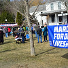 KRISTOPHER RADDER - BRATTLEBORO REFORMER<br /> A large group of people attended the March for our Lives Rally in Putney, Vt., on Saturday, March 24, 2018.