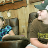 Globe/Roger Nomer<br /> Mason Lillard and Lage Grigsby talk about their recovery following last year's tornado.