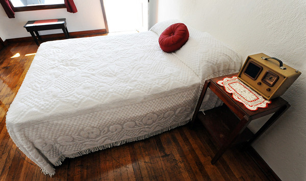Globe/T. Rob Brown<br /> The simplistic, 1940s-style rooms of the Boots Motel in Carthage Tuesday morning, May 1, 2012, at the Route 66 landmark.