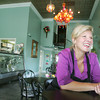 Globe/Roger Nomer<br /> This Friday, Liz Easton will reopen Cupcakes by Liz on Main Street.