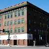 Globe/T. Rob Brown<br /> The old Joplin Furniture building on the corner of Seventh and Main Streets as seen in a southwest view Thursday morning, May 10, 2012.