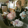 Globe/Roger Nomer<br /> Savannah Martin packs her dolls in preparation for a move back into the family's old apartment.