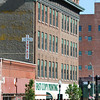 Globe/T. Rob Brown<br /> The old Joplin Furniture building on the corner of Seventh and Main Streets as seen in a northward view Thursday morning, May 10, 2012.