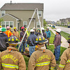 Submitted photo<br /> Firefighters from Zionsville and several other departments attended a confined spaces rescue training seminar sponsored by Boone REMC recently.