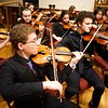 BEN GARVER — THE BERKSHIRE EAGLE<br /> The Pittsfield High School Orchestra played at Zion Lutheran church in Pittsfield before Mayor Linda Tyer's 2018 State of the City Address, Monday, January 8, 2018.