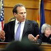 "Kevin McGregor Trial002.JPG Prosecuter Stan Garnett explains a facebook posting to the jury that Kevin McGregor made the night of the murder on Thursday, Jan. 26, during the murder trial of Kevin McGregor at the Boulder County Justice Center in Boulder. For more photos of the trial go to  <a href=""http://www.dailycamera.com"">http://www.dailycamera.com</a><br />  Jeremy Papasso/ Camera"