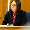 "Investigator Marci Lieberman, with the Boulder District Attorney's Office, testifies on Tuesday, Jan. 31, during Kevin McGregor's trial for the murder of Todd Walker at the Boulder County Justice Center in Boulder. For more photos of the trial go to  <a href=""http://www.dailycamera.com"">http://www.dailycamera.com</a> Jeremy Papasso/ Camera"