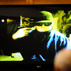"""A photo of Kevin McGregor holding a pistol to his own head that was found on his laptop by Boulder Police Detective Scott Sloan on Tuesday, Jan. 31, during Kevin McGregor's trial for the murder of Todd Walker at the Boulder County Justice Center in Boulder. For more photos of the trial go to  <a href=""""http://www.dailycamera.com"""">http://www.dailycamera.com</a> Jeremy Papasso/ Camera"""