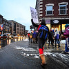 KRISTOPHER RADDER - BRATTLEBORO REFORMER<br /> Diana Whitney and others march down Main Street, in Brattleboro, during the  #MeToo Solidarity Rally on Thursday, March 8, 2018.