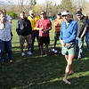 "Ultra runner, Buzz Burrell, begins the memorial service for Micah True.<br /> A memorial service was held Friday for Boulder  ultrarunner, Micah True, at Chautauqua Park.<br /> For photos and a video of the service, go to  <a href=""http://www.dailycamera.com"">http://www.dailycamera.com</a>.<br /> Cliff Grassmick / April 6, 2012"