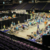 Mission of Mercy, a free dental clinic, was held at the Verizon Wireless Center in Mankato on Friday and Saturday. A similar event was held there in 2012.Photo by John Cross