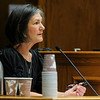 MIDYETTE<br /> Jane Bowers, Molly Midyette's mother, testifies during Midyette's hearing on Friday.<br /> <br /> PHOTO BY MARTY CAIVANO<br /> OCT.28, 2011