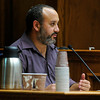 MIDYETTE<br /> Reito Rodriguez, who was Molly Midyette's therapist for two years, testifies during Molly Midyette's hearing on Friday.<br /> <br /> PHOTO BY MARTY CAIVANO<br /> OCT.28, 2011