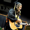 "Monarch High School graduate Ashley Prince jams away on her guitar during Monarch's graduation ceremony on Friday, May 20, at the Coors Events Center on the University of Colorado campus in Boulder. For more photos and video of the graduation go to  <a href=""http://www.dailycamera.com"">http://www.dailycamera.com</a><br /> Jeremy Papasso/ Camera"