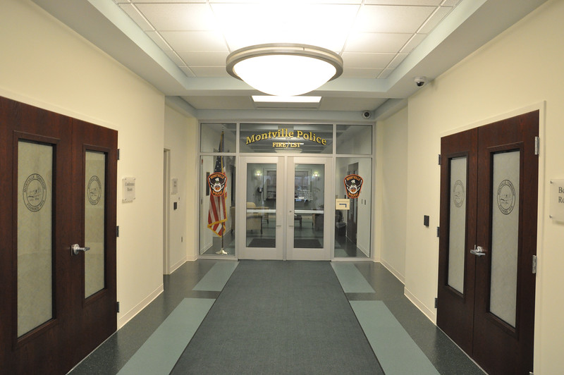 ASHLEY FOX / GAZETTE A new 5,000 square foot administration wing that cost roughly $1 million was added onto the Montville Police Department building that was built in 2011. A ribbon cutting ceremony at 2 p.m. Sunday will be part of an open house.