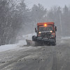 KRISTOPHER RADDER - BRATTLEBORO REFORMER<br /> Snowplows work to keep Route 9, in Marlboro, Vt., clear as a Nor'Easter hits the area with snow again on Wednesday, March 7, 2018.