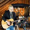 BEN GARVER — THE BERKSHIRE EAGLE<br /> Thomas Corrigan plays during Holiday Brook Farm Mother's Day brunch in Cooper Barn.