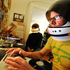 "Radio_4.jpg Jeep MacNichol broadcasts a weekly reggae pirate radio show called Mr. Anonymous Internet Radio on Monday, December 10, 2012 at his Denver home. Listeners can find him and his co-host, James ""Butchy"" Stapleton, them online or broadcasted by Boulder's Green Light Radio. The duo has followers from around the world and play records from MacNichol's personal collection that he has been working on since he was in the eighth grade. (Kira Horvath/Longmont Times-Call)"