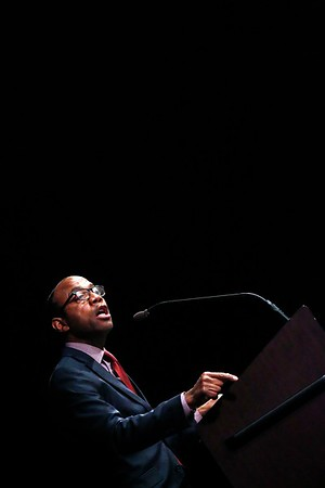 NAACP Pres. Cornell William Brooks speaks at Du Bois Lecture-042617