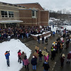 Students from around the area took part in the National School Walkout Day for 17 minutes on Wednesday, March 14, 2018, to honor the lives the lost at Marjory Stoneman Douglas High School on Feb. 14 and to bring a united voice against gun violence.