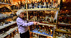 Shirley Squires, Guilford, Vt., resident, had her son build her a special room attached to the garage where she stores a majority of her collection.  Kristopher Radder / Reformer Staff