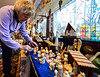 Shirley Squires, Guilford, Vt., resident, said she has roughly 1400 nativity sets but stopped counting after last year.  Kristopher Radder / Reformer Staff