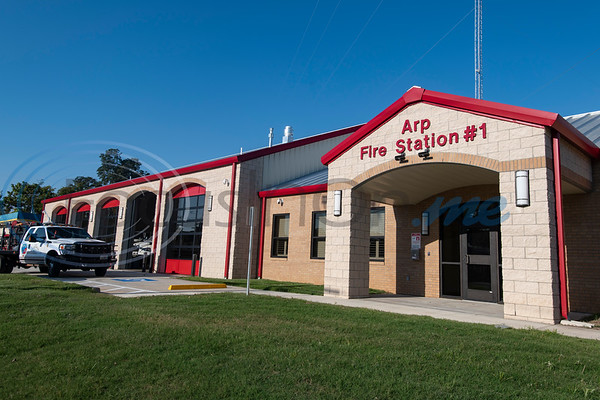 The new Arp Fire Station No. 1 is pictured on Tuesday, Oct. 6, 2020. The new station is serviced by fire crews from Smith County Emergency Services District 2 and Arp Volunteer Fire Department. Beginning on October 4, 2020, the station began housing 24-hour staff. The new facility replaces the former facility built in 1979. New amenities include overnight accommodations, showers, a day room and kitchen, a gym, increased storage and a large training room.